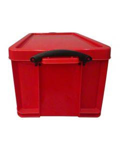 Caja de plástico de 35 L.