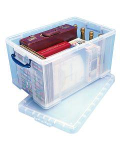 Caja de plástico de 84 L.