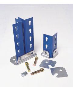 Kit calzos metálicos para estanterías  Metal Point 15 y Metal Point Plus