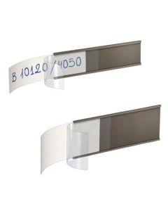 etiquetas magnéticas estanterías