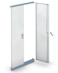 Conjunto puertas estantería M3 taller y almacén