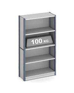 estantería para oficina con capacidad de 100 kg por nivel