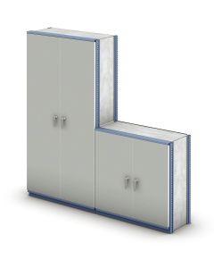 conjunto puertas oficina estantería M3