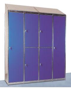 accesorio techo inclinado armarios metálicos vestuario