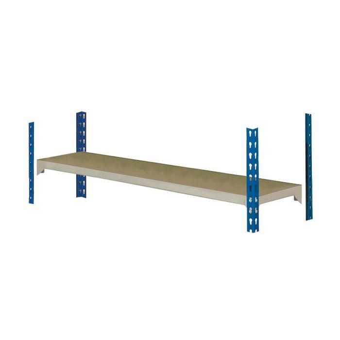 estante estantería MP2 azul-gris