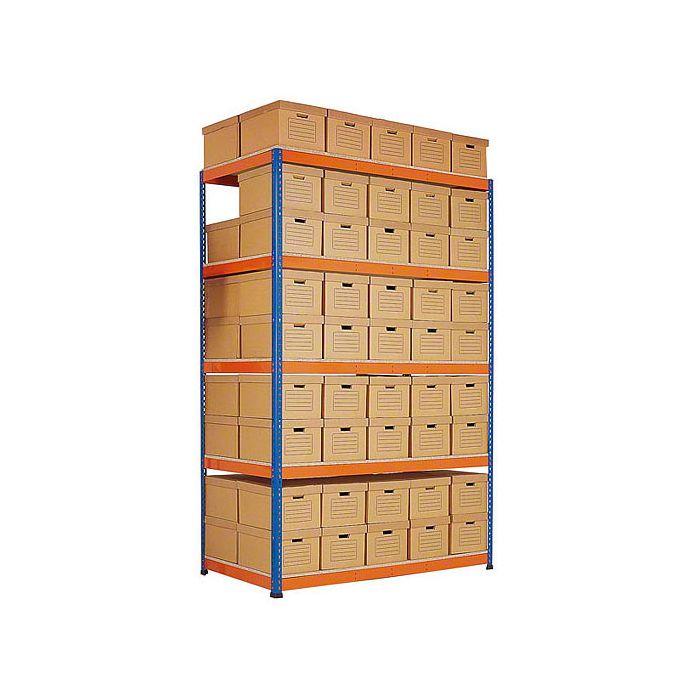 cajas de almacenaje estantería sin tornillos