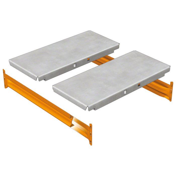 estante panel metálico galvanizado estantería M7
