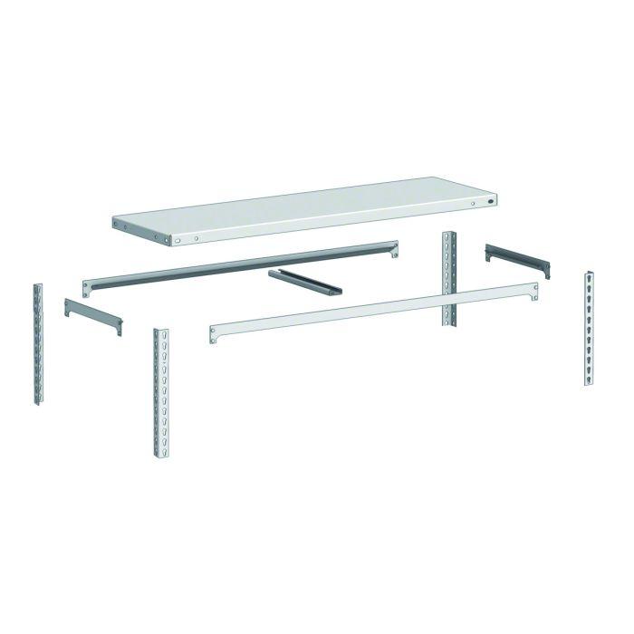 instalación nivel para estantería galvanizada Metal Point 2