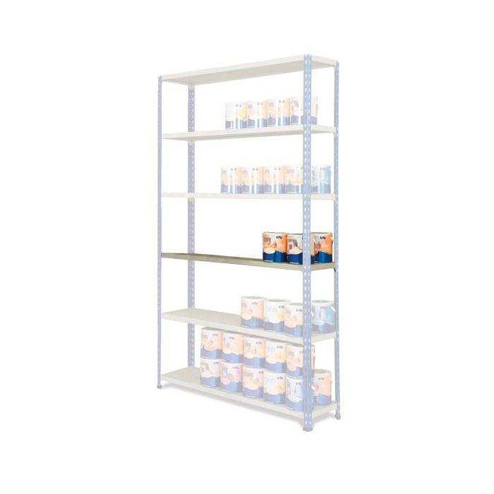 estante estantería MP2 azul-gris cargas medias
