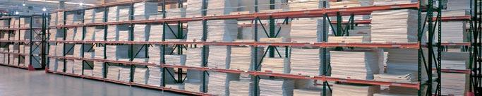 estanterías metálicas industriales de carga manual